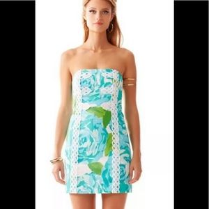 Lilly Pulitzer Tansy poolside dress 2 xs PERFECT